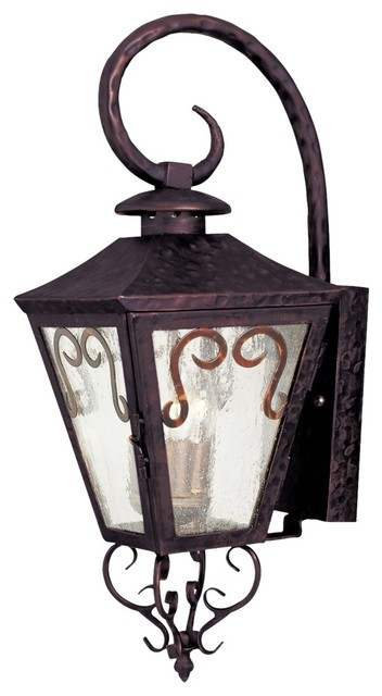 """Country - Cottage Quesada 23"""" High Outdoor Wall Light traditional-outdoor-lighting"""