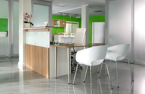طراحی دکوراسیون میز پذیرش،طراحی میز رسپشن
