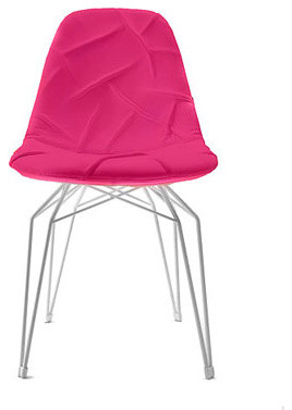 Kubikoff Diamond Pop Chair Fuschia  chairs