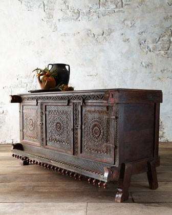 Indian Antique Damachiya traditional buffets and sideboards