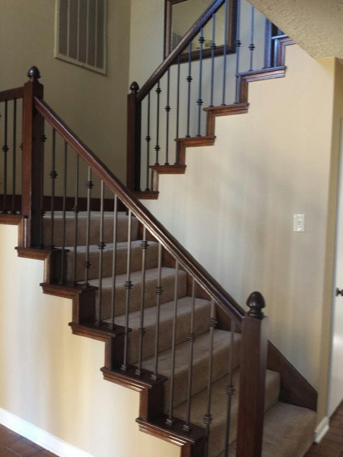 Wrought Iron Balusters Remodel