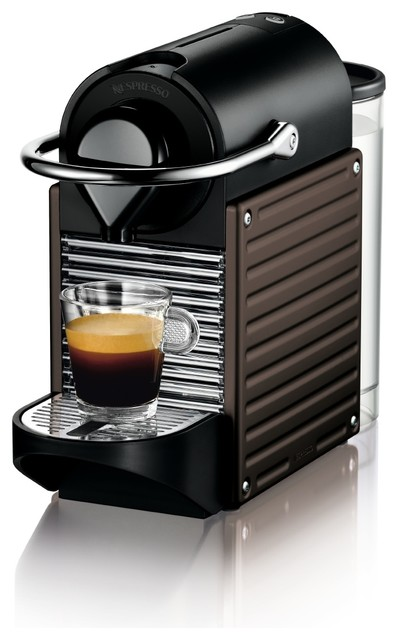 Nespresso Pixie C60 Brown modern-coffee-and-tea-makers