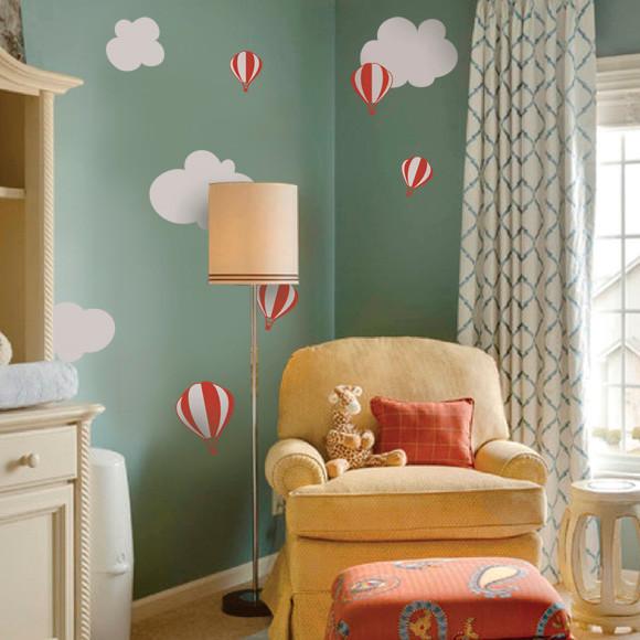 Hot Air Balloon Nursery Decorations 110