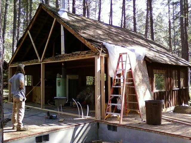 Camp Sherman 1920's Historical Cabin