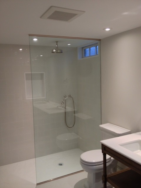 Frameless Splash Panel Traditional New York By Atm Mirror And Glass