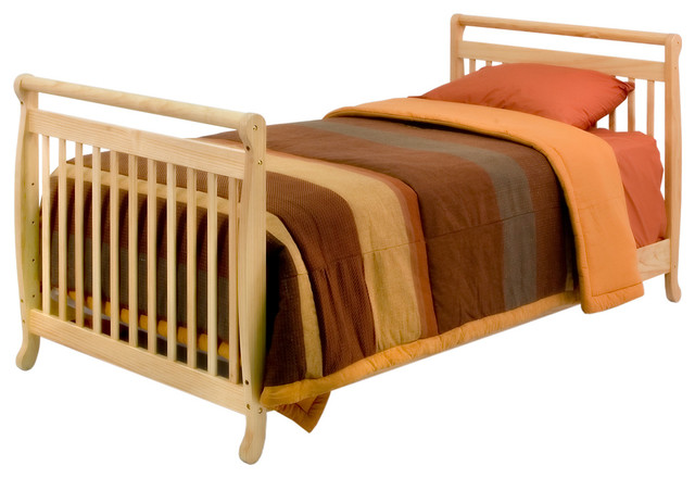 Emily Mini Crib with 1.5-Inch Pad traditional-cribs
