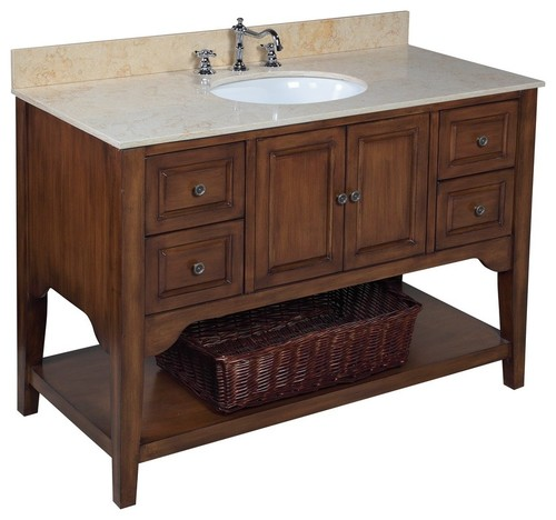 Powder room vanity for Powder bathroom vanities