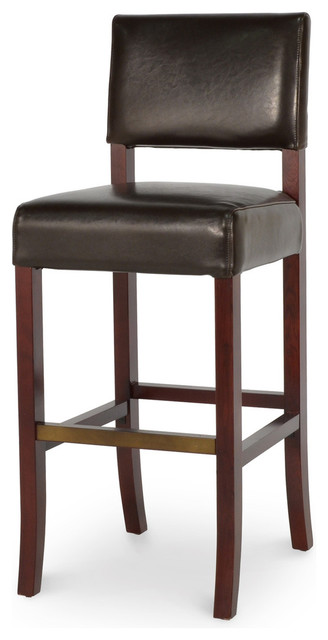 Portland leather barstool 30 39 39 transitional bar stools and counter stools by masins furniture Home bar furniture portland oregon