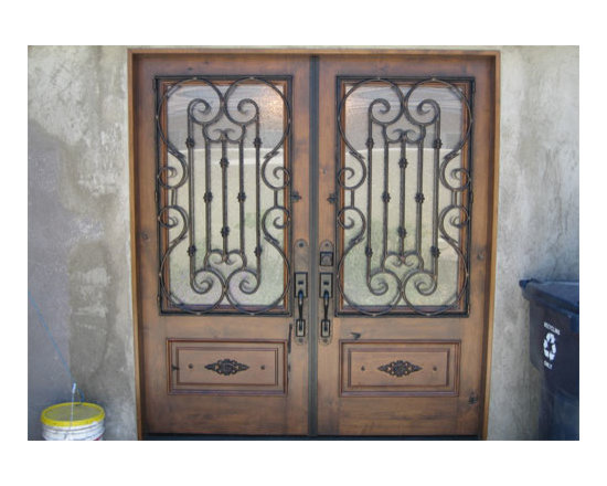 Contemporary Doors Installation Costa Mesa - Since 2001, Marquez Iron Work affordable and decorative contemporary design door installing service.