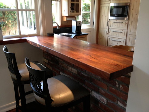 Countertop Height Overhang : This post was edited by ctycdm on Thu, Oct 3, 13 at 14:36