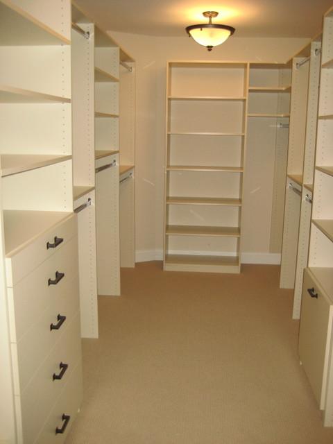 CLOSET ORGANIZERS contemporary-closet