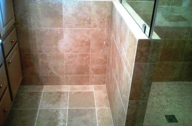 Shower:  Stonepeak Ceramics & AlysEdwards contemporary-bathroom