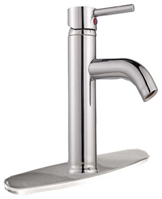 Faucets Chrome Widespread Bathroom Faucet 9 11/16H