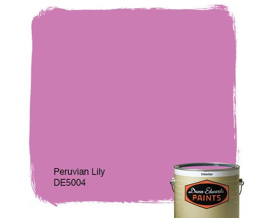 Dunn-Edwards Paints Peruvian Lily DE5004 -