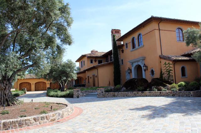 Napa Valley Estate mediterranean-exterior