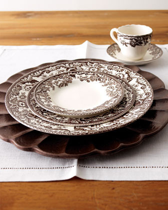 Spode Five-Piece Delamere Place Setting traditional dinnerware