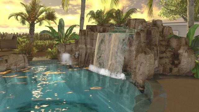 Fahd Residence tropical-rendering