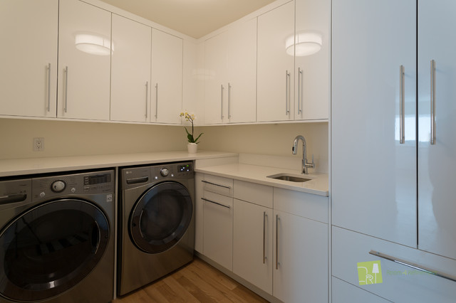 Ikea Laundry Room Modern Calgary By