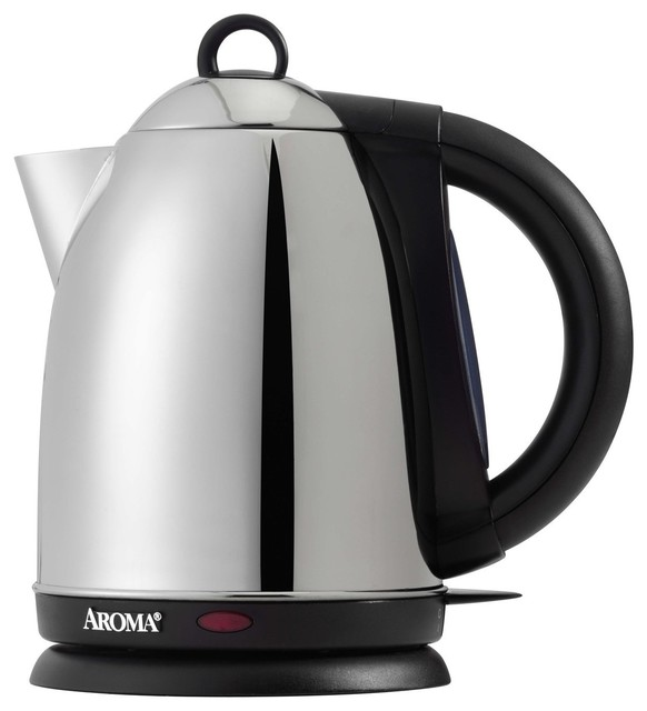 Aroma Hot H20 X-Press 1-1/2-Liter Cordless Water Kettle - Contemporary - Kettles - by Amazon