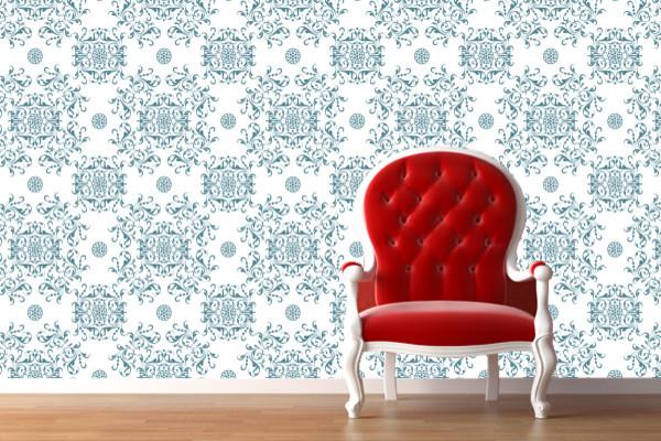 Remove & Reuse Fabric Wallpaper WallSkins. Fast. Easy. No Commitment. wallpaper