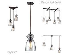 Menlow Park Pendants pendant-lighting