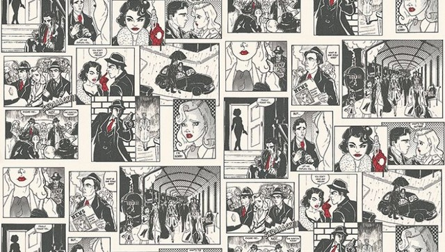 Comic Strip - wallpaper - by Wallpaperdirect