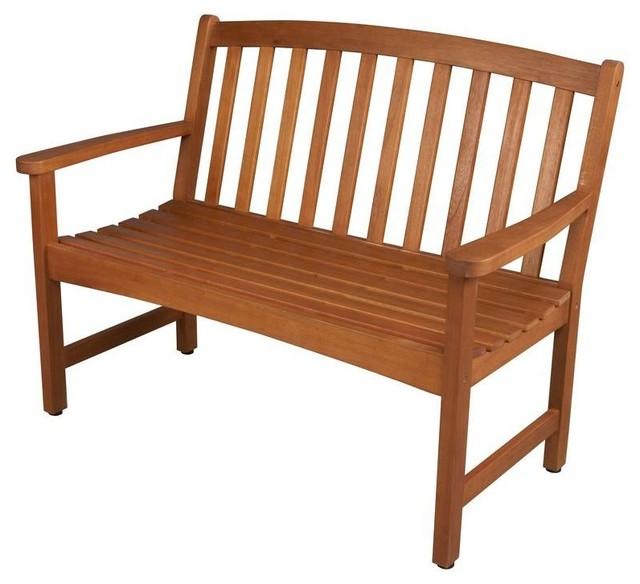 Hampton Bay Benches Harris Grove 2 Seater Patio Bench Ktob 1194 Hdp Contemporary Outdoor