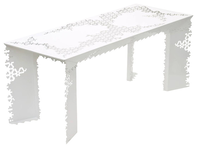 Ricami Table (White) modern-dining-tables