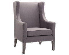 Stein World Wingback Chair transitional-armchairs