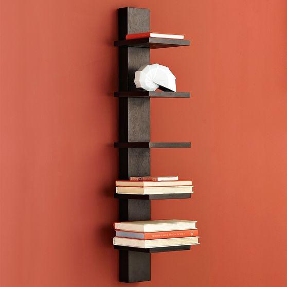 Spine Wall Shelf modern-display-and-wall-shelves