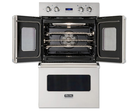 The Viking Professional French-Door Double Oven introduces total convenience and -