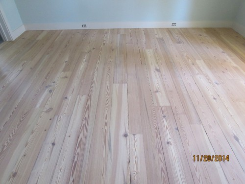 #1 Reclaimed Heart Pine Hardwood Flooring stain color is ...