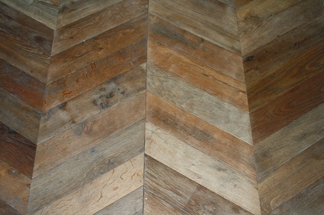 Antique Reclaimed French White Oak flooring eclectic wood flooring