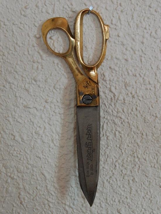 Rupalee Scissors - handcrafted scissors photographed by  Sandra Zovko.