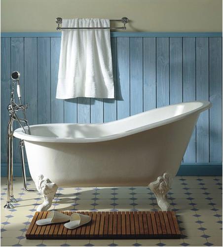 Herbeau Creations Marie Louise Cast Iron Claw Foot Bath Tub Traditional B