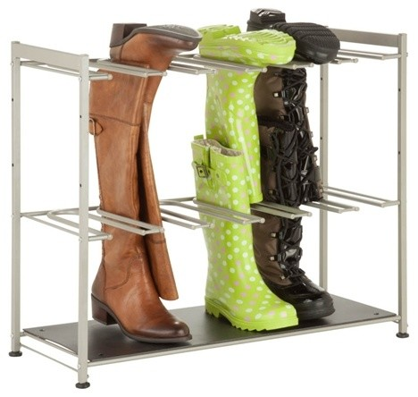 boot rack modern shoe storage by honey can do