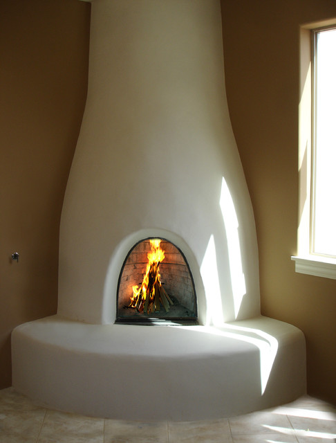 Adobelite Orno Kiva Fireplaces Indoor Fireplaces