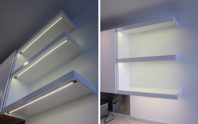 Kitchen Shelf LED Lighting | Inspired LED - Contemporary - Kitchen - hawaii - by Inspired LED