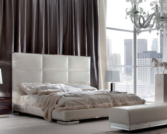 Giorgio Collection - Luxurious. Sophisticated. The Giorgio Collection's DAYDREAM bedroom set. Fully upholstered in 1st grade leather, velvet or suede, finely crafted in Italy.