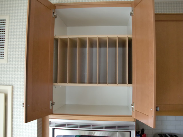 Above Fridge & Oven Tray Dividers - Kitchen Drawer Organizers - boston - by ShelfGenie of ...
