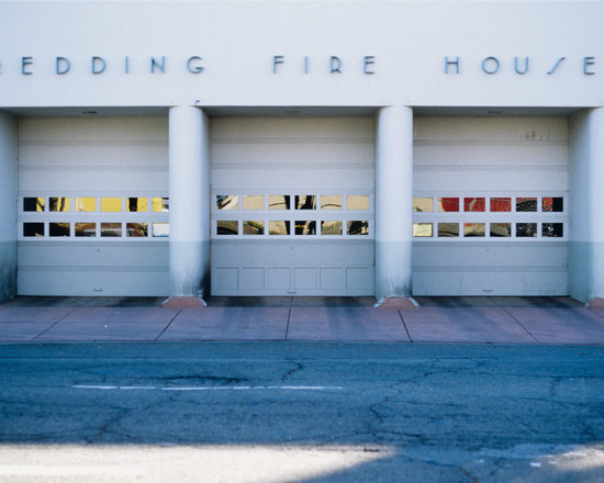 """Fire Station #2 - C-print, unmanipulated transparency film image, 20""""x30"""" image size, 24""""x34"""" paper size, edition of three c-prints, edition of three pigment prints. Signed, numbered and captioned in ink on the verso."""