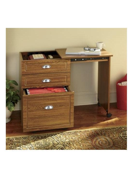 Kent Convertible File Cabinet Desk -