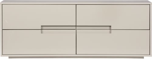 Latitude Oat Low Dresser modern-dressers-chests-and-bedroom-armoires