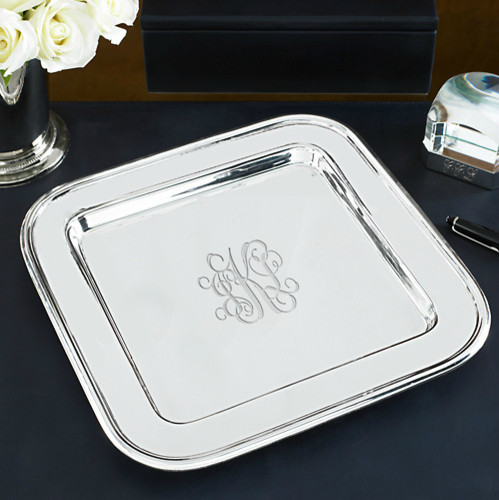 Durban Square Tray traditional serveware
