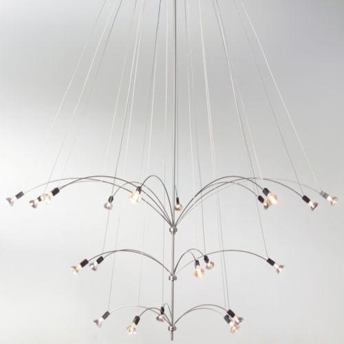 Starburst 20 Chandelier contemporary-chandeliers