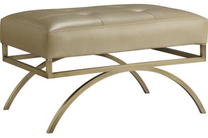 Baker Furniture : Arc Bench by Barbara Barry contemporary-indoor-benches