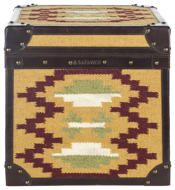 Stagecoach Trunk ACS6501A traditional-decorative-trunks