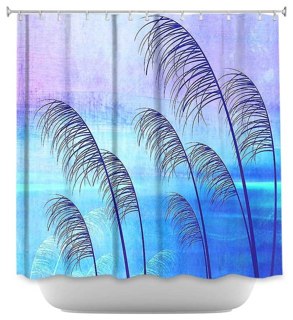 Shower Curtain Artistic Tropical - Contemporary - Shower Curtains - by ...