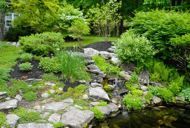 Landscaping Stones Portland Maine : Home in maine natural landscaping transitional portland