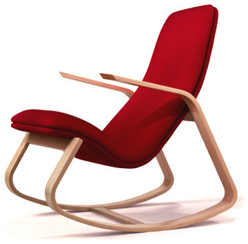 Rapson Rapid Rocker contemporary rocking chairs and gliders